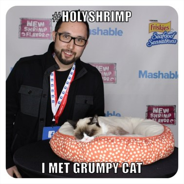 Grumpy Cat #HolyShrimp