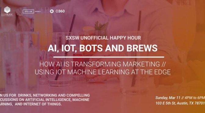 SXSW 2018 Artificial Intelligence Event