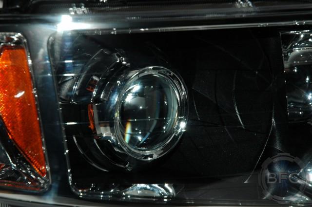 Graystone Metallic Silverado Projector Headlights