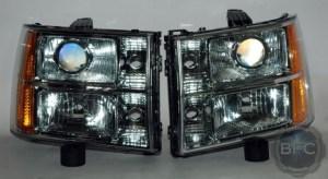 2010 GMC Sierra HID Projector Conversion Headlights
