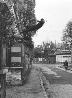 Yves Klein - Leap into the void