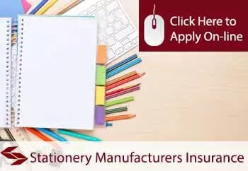 stationery manufacturers insurance