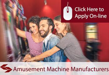 amusement machine manufacturers insurance