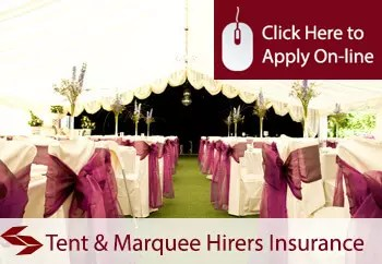 tent and marquee hirers commercial combined insurance