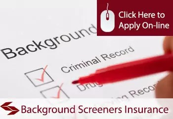 background screeners professional indemnity insurance