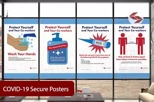 COVID-19 Secure Workplace Posters