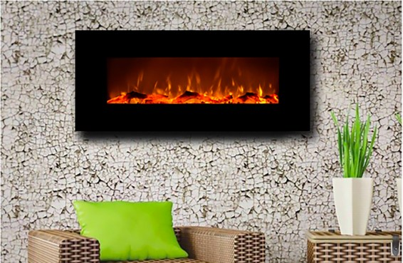 Touchstone 80001 Onyx Wall Hanging Electric FireplaceBlack Friday Deals
