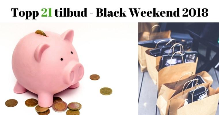 Her er de 21 beste tilbudene for Black Weekend 2019