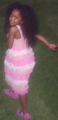 Mom Grows Out Daughter S Kinky Natural Hair To Waist