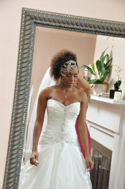 Halea Natural Hair Bride Black Girl With Long Hair
