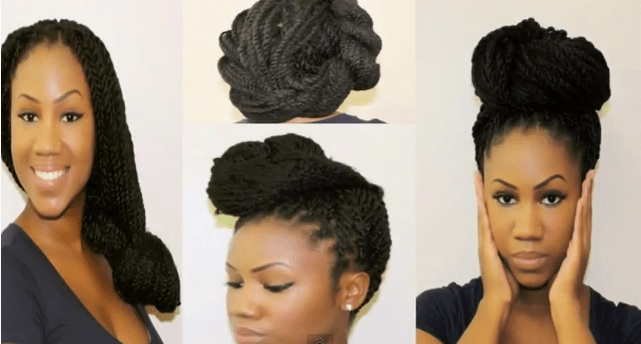 4 Ways To Style Senegalese Twists