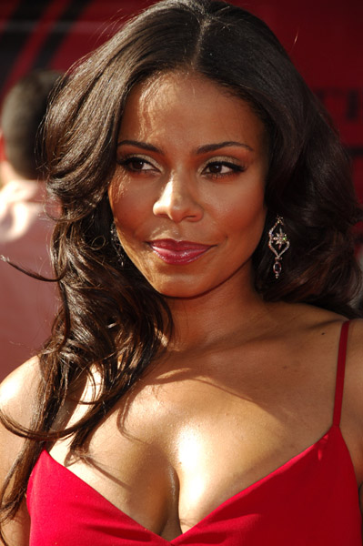 Sanaa Lathan Shows Her Hair After Weave Take Down Black