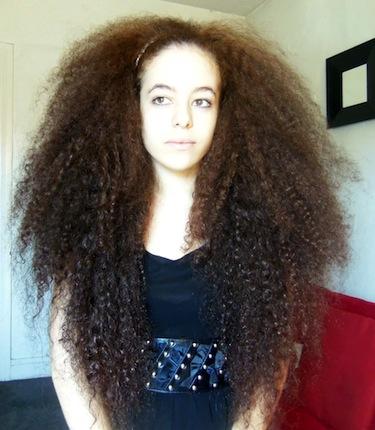 Long Natural Hair 3b