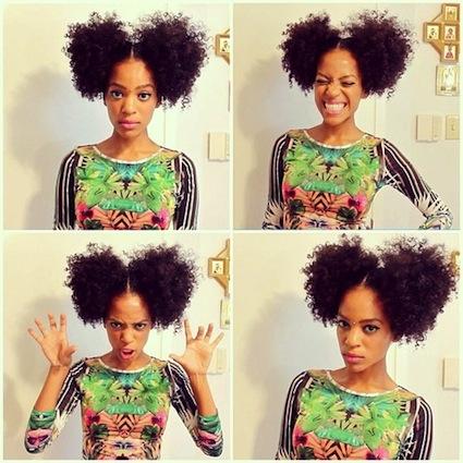 Bema 3b C Natural Hair Style Icon Black Girl With