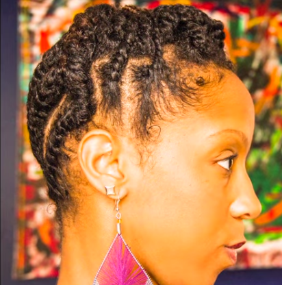 7 fabulous hairstyles for short natural hair black girl with flat twisted updo on short natural hair pmusecretfo Image collections
