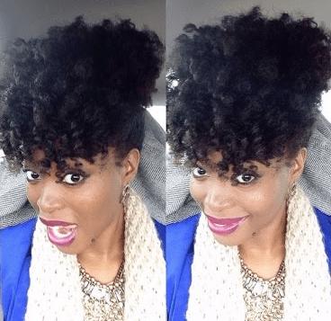 Awe Inspiring 5 Simple Styles For Medium Length To Long Kinky Natural Hair Short Hairstyles For Black Women Fulllsitofus