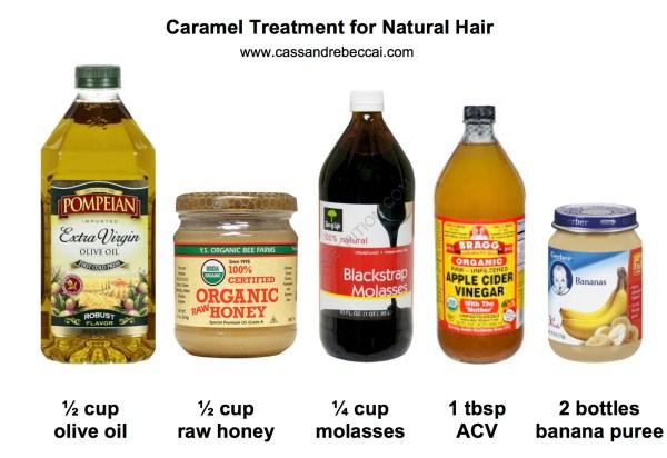 caramel treatment diy