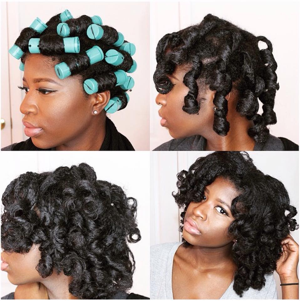 Tremendous 5 Stunning Pictorials Of Perm Rod Styles Black Girl With Long Hair Hairstyles For Women Draintrainus