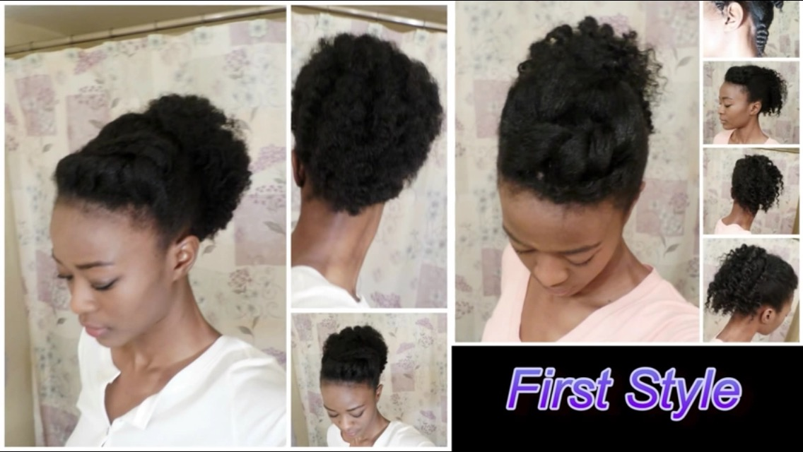 Awesome 8 Quick Natural Hair Styles For Moms On The Go Black Girl With Short Hairstyles For Black Women Fulllsitofus