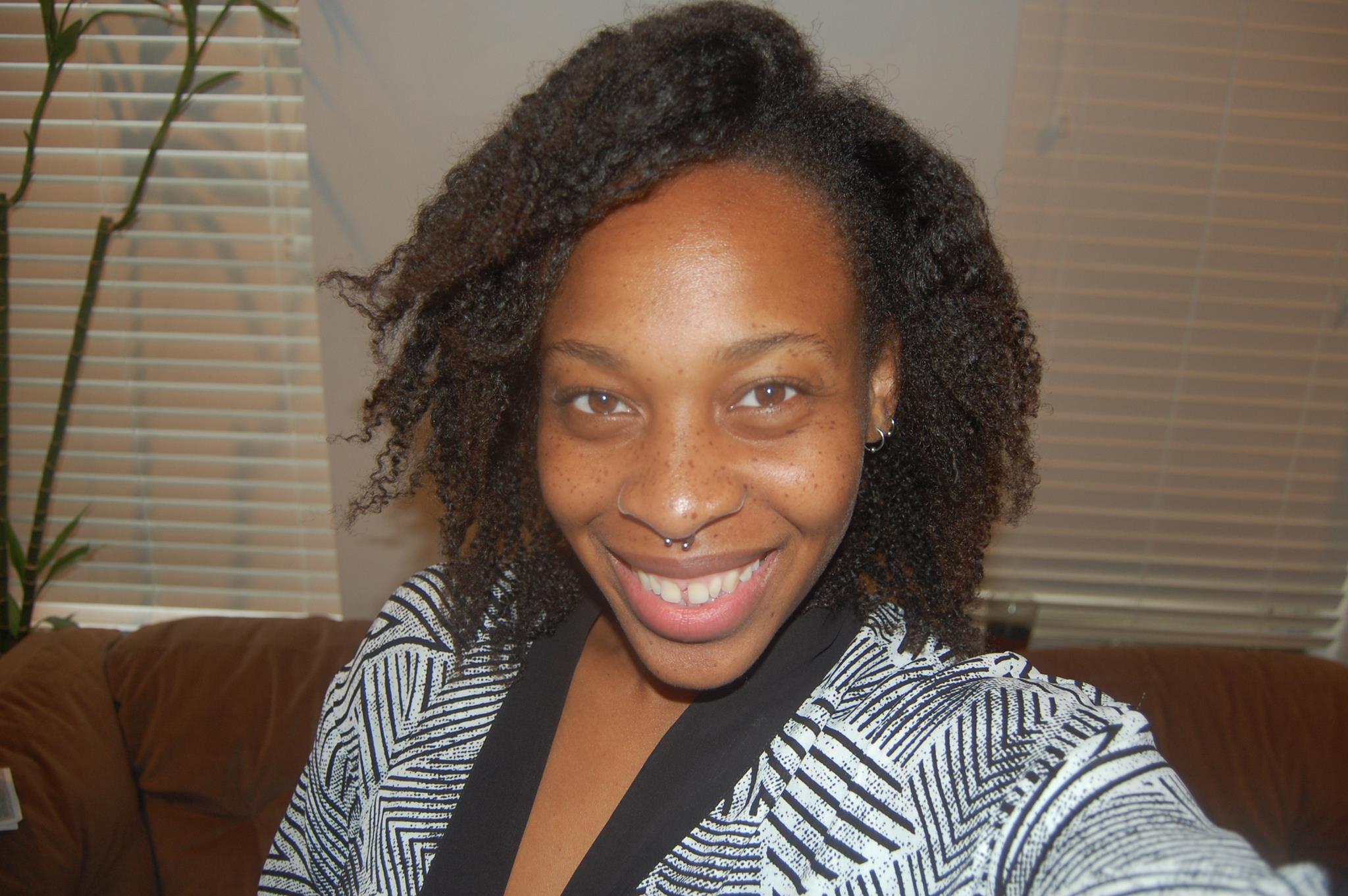 Black Girl With Long Hair