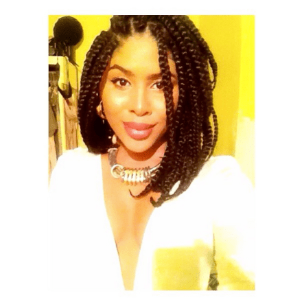 Cool 15 Photos That Prove Bob Box Braids Are The Hottest New Protective Short Hairstyles Gunalazisus