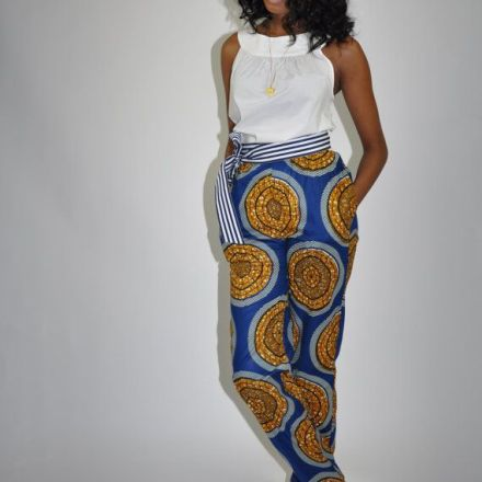african print pants 2