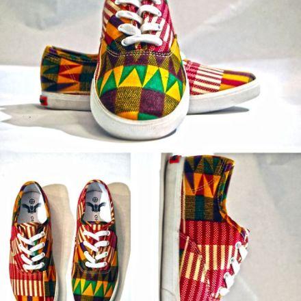 kente sneakers