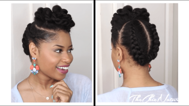 Natural Hair Style: Black Girl With Long Hair