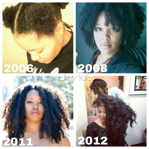 8 More Inspiring Photos of Amazing Natural Hair Journeys