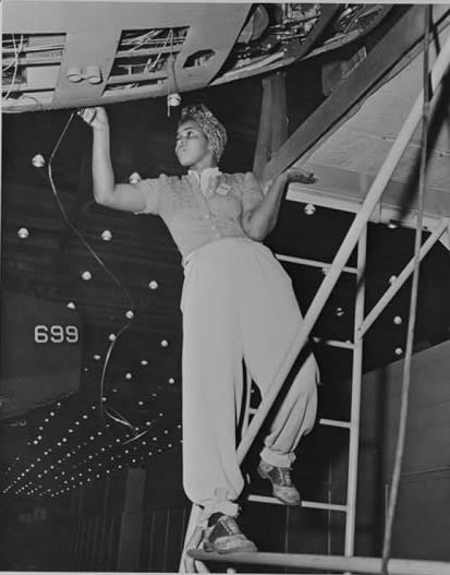 douglass aircraft black woman