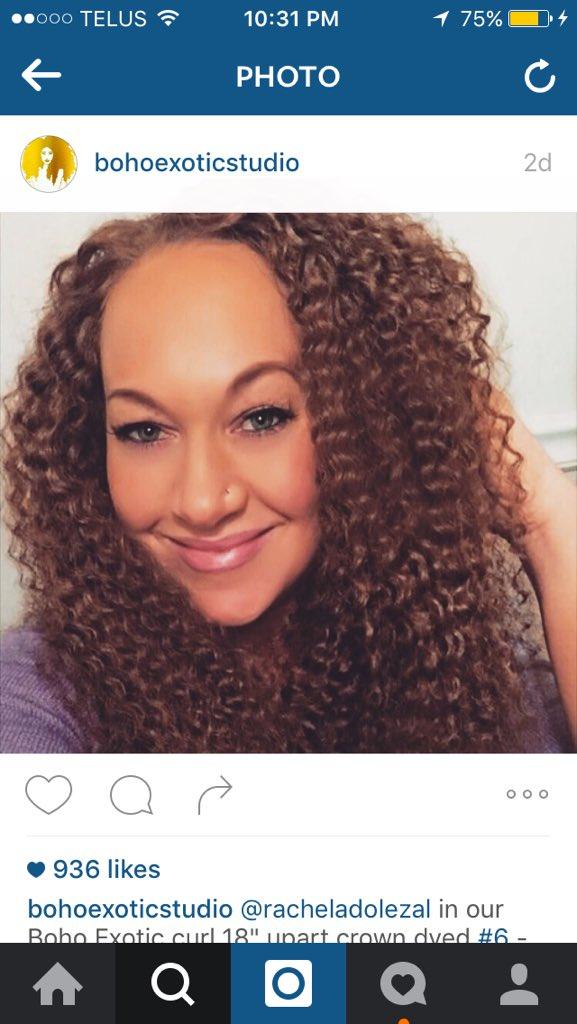 instagram rachel dolezal weave