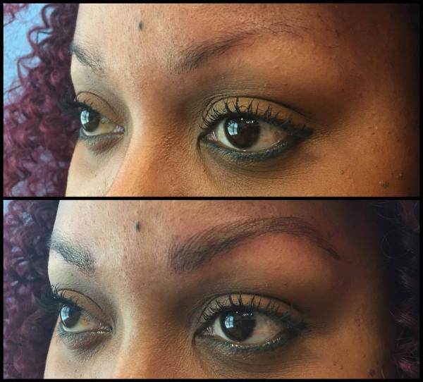 I Tried Microblading The Semi Permanent Eyebrow Tattooing