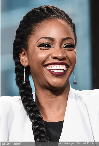 JANUARY 26: Teyonah Parris attends AOL Build to discuss her new film 'Chi-Raq' at AOL Studios on January 26, 2016 in New York City. (Photo by Daniel Zuchnik/WireImage, Source: GettyImages)