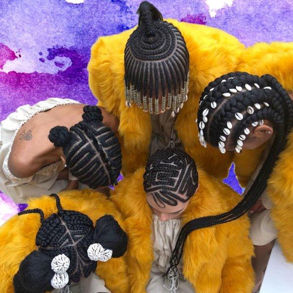 pics solange's braids exhibit