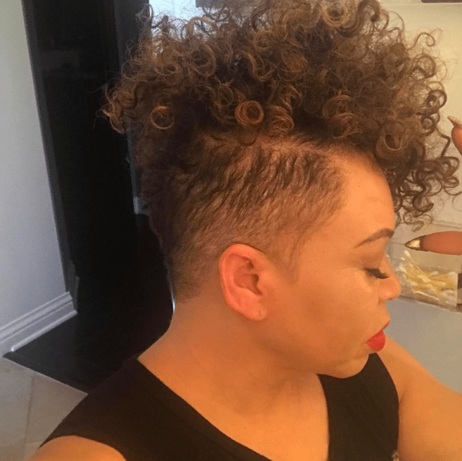 Tisha Campbell-Martin Nailed it With Her New Curly Undercut