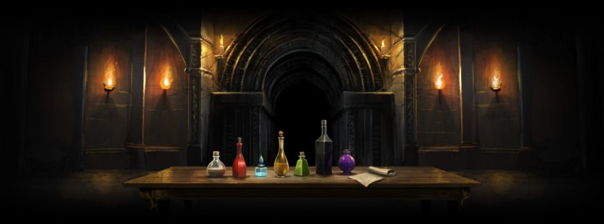 Potions Tournament courtesy of Pottermore.com
