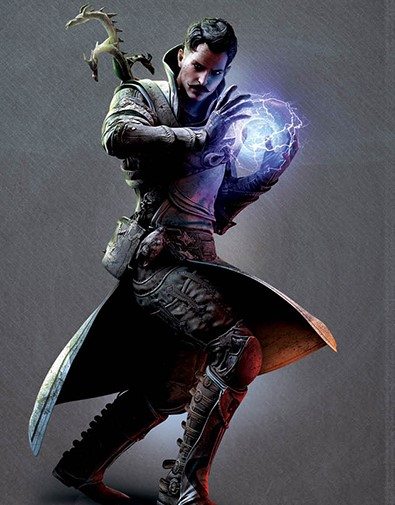 Dorian, a mage noble who has slaves in his familial house, in DragonAge. Via BioWare Blog.