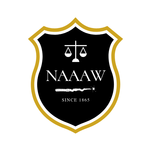 Logo for the National Association of African American Wizards, conceived of by Bianca Ramos. Image by Bayana Davis.