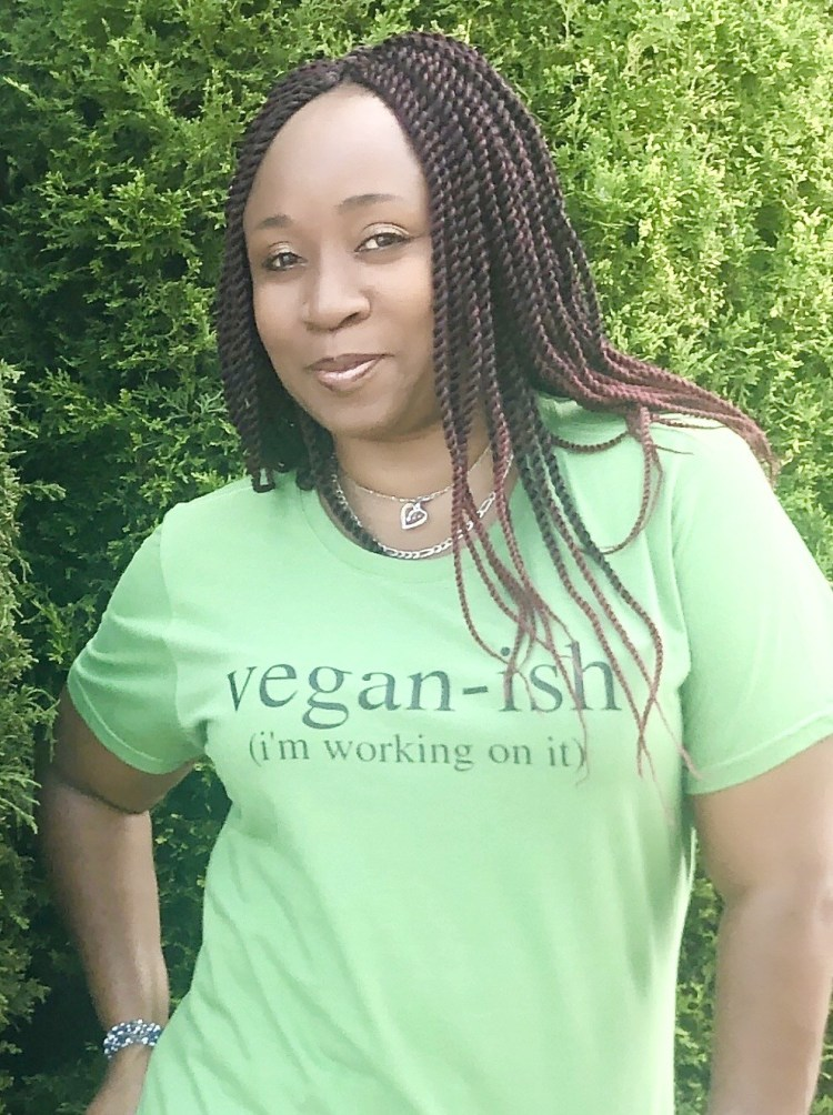 LA Dunn in Vegan Ish Shirt
