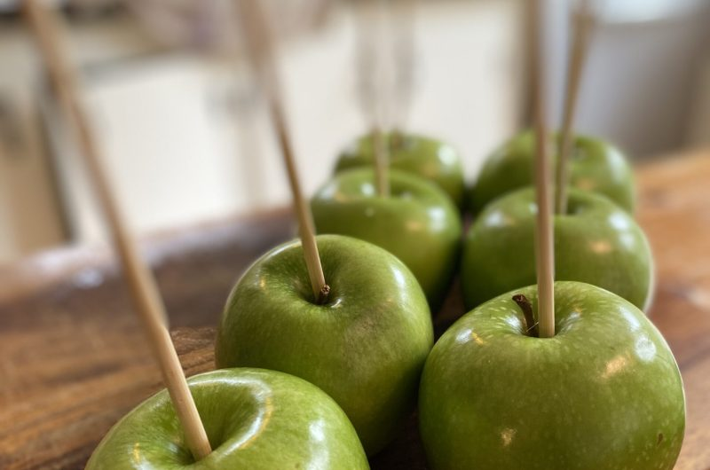 Easy Caramel Apples for Kids and Kids at Heart