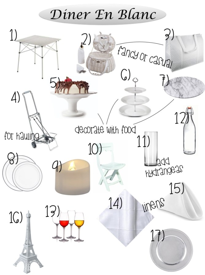 Diner En Blanc List 2.001