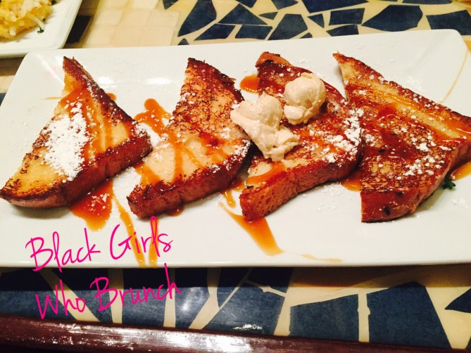 The delicious Carmel French Toast