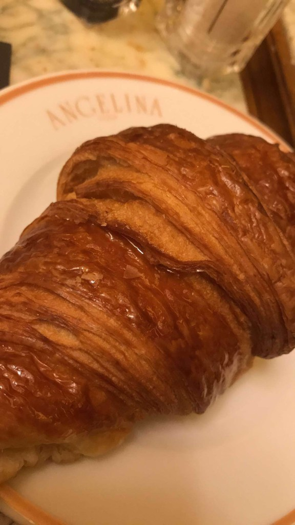 Best croissant I had the whole week and trust I had plenty! Hehehe