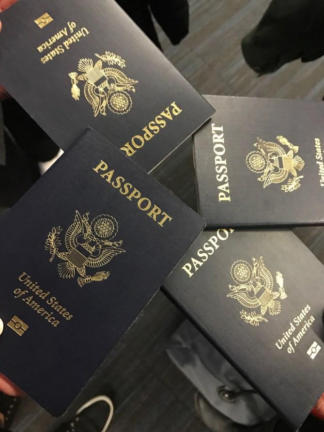 Obligatory passport photo