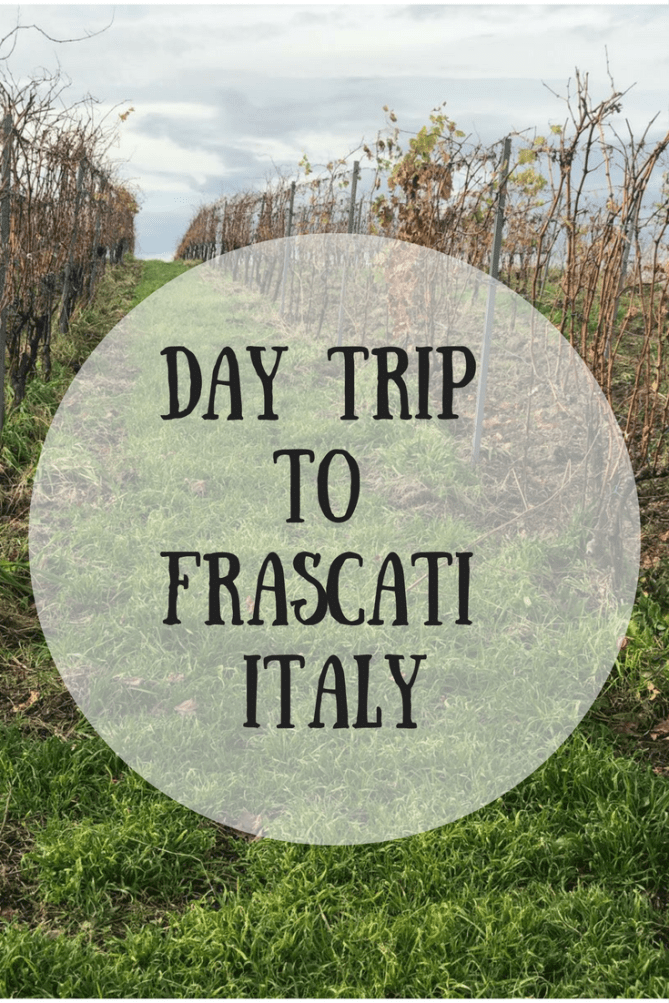 The Rome Guide-Day Trip to Frascati Italy