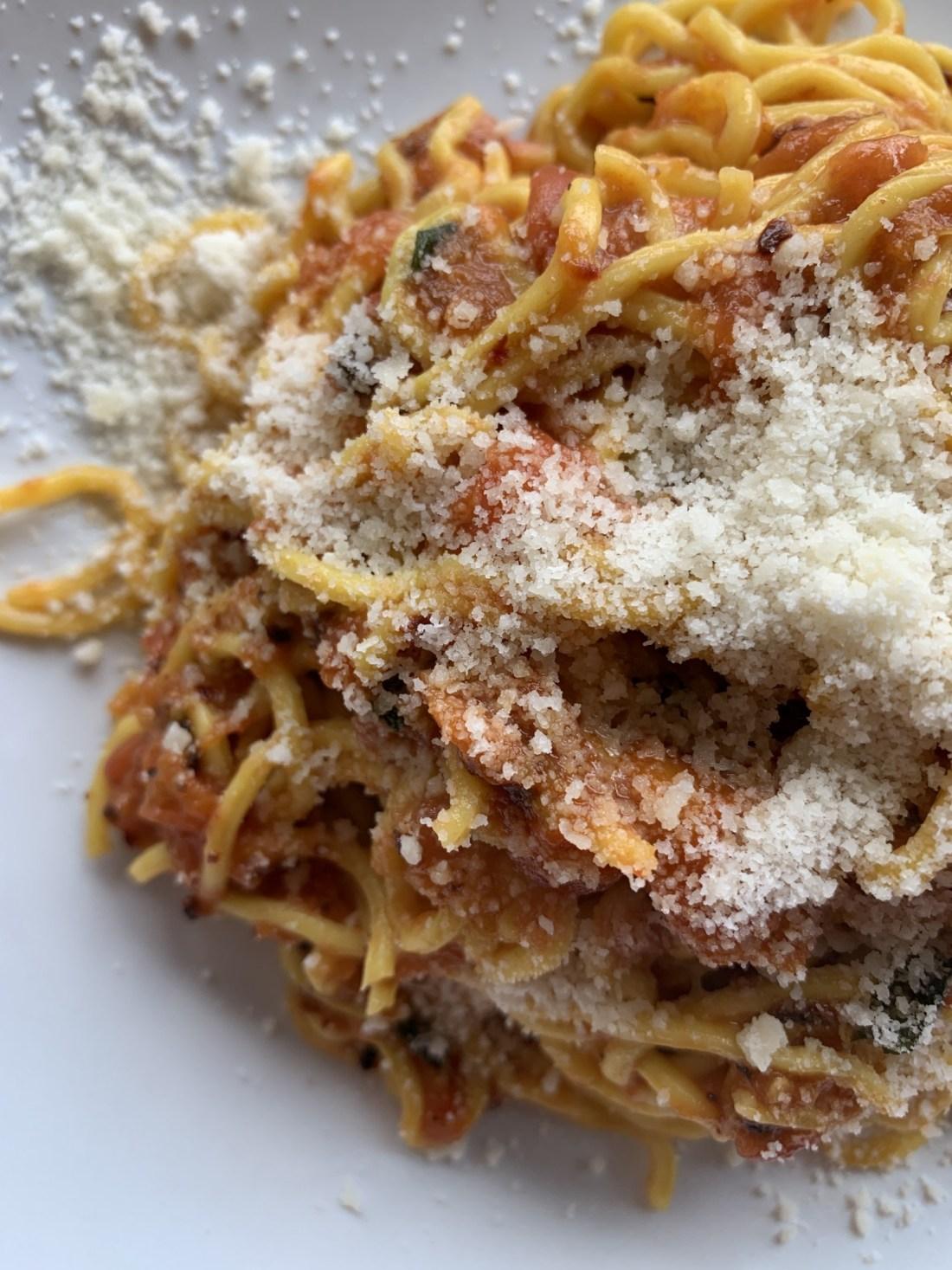 Spaghetti from BOH Pasta