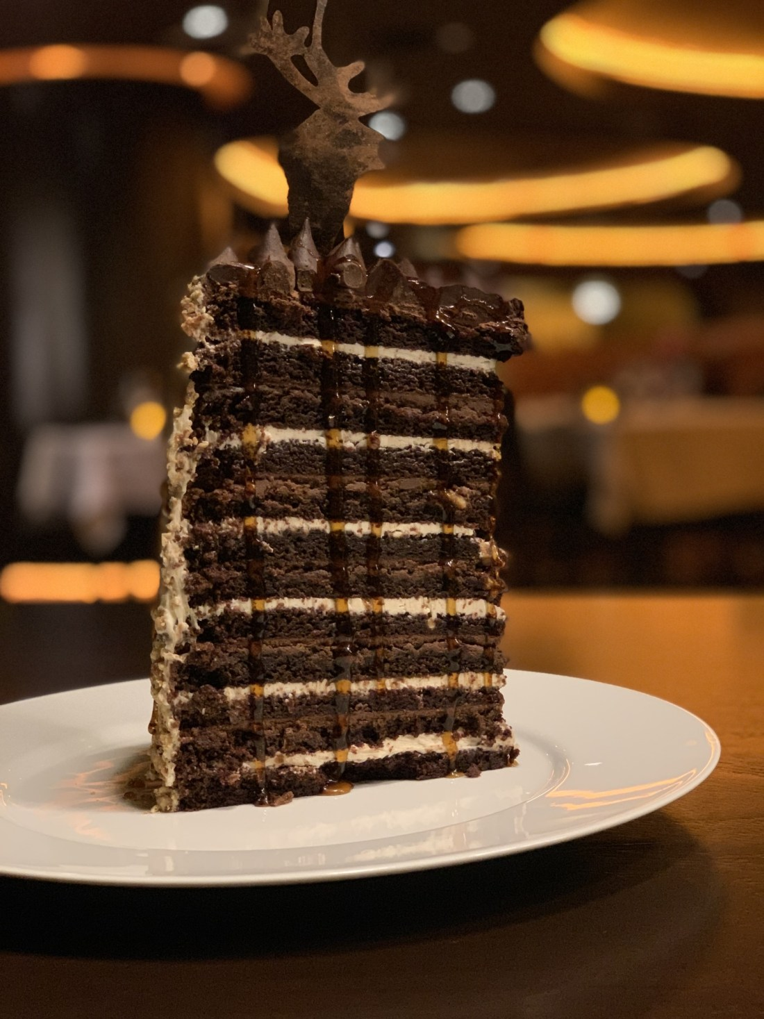 26 Layer Chocolate Cake