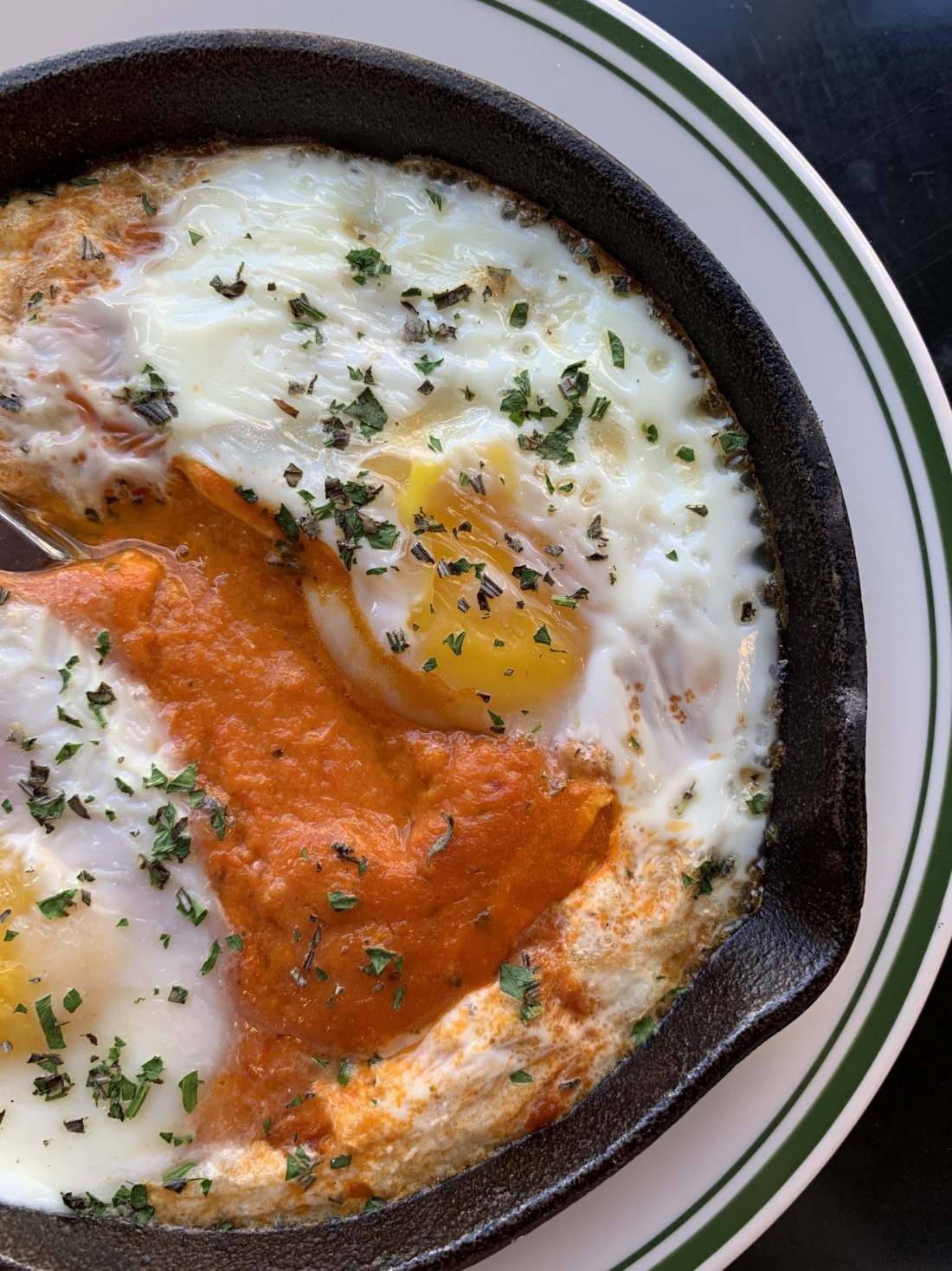 Shakshuka at Liberty Kitchen Reno