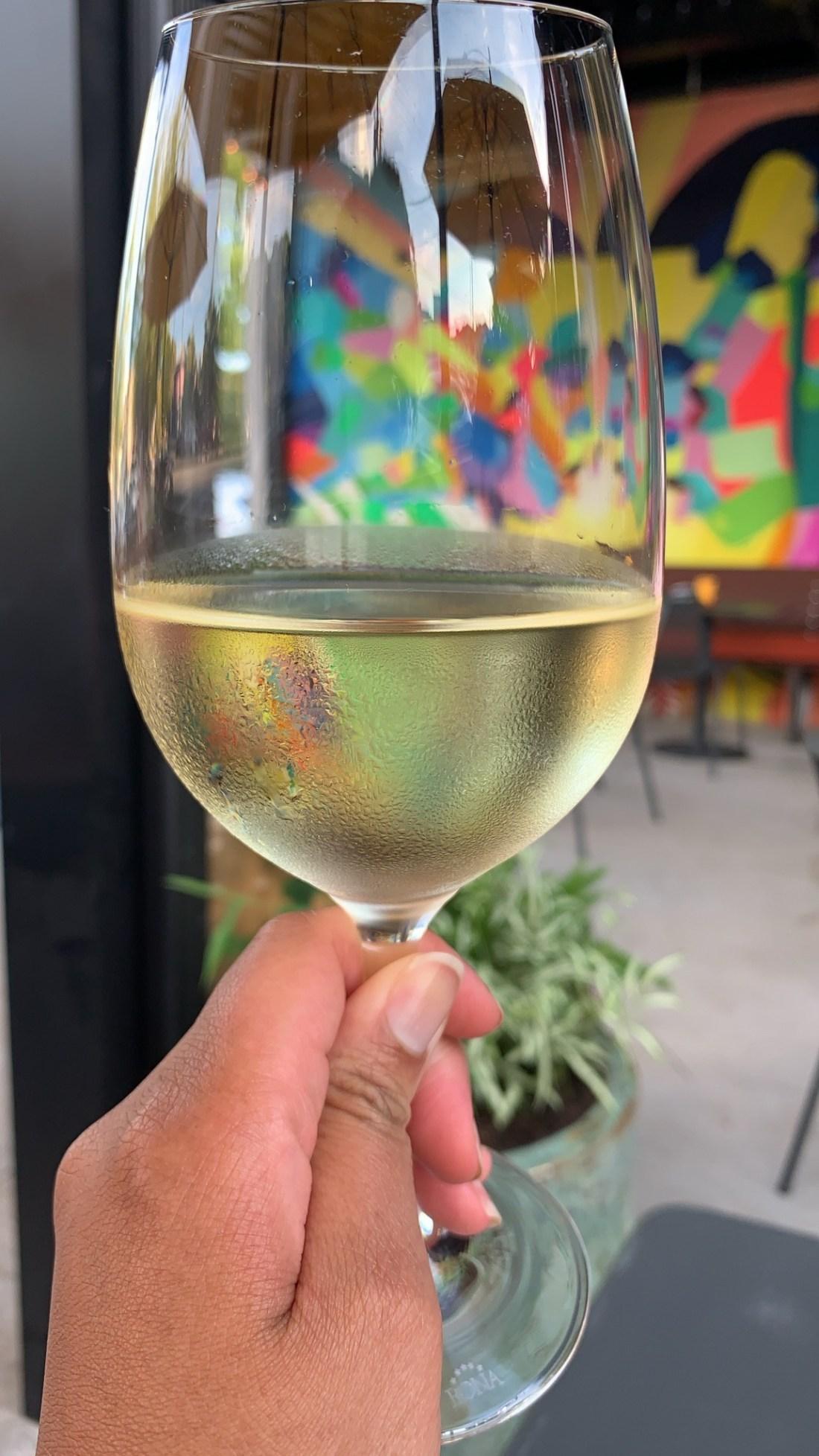 White Wine at Postino