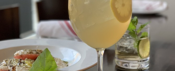 Lemon Spritz Cocktail